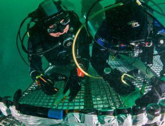 Computertest in 40 Meter Tiefe