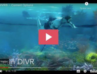 VR Brillen unter Wasser