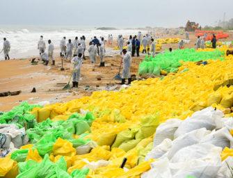 Vor Sri Lanka bahnt sich eine Umweltkatastrophe an